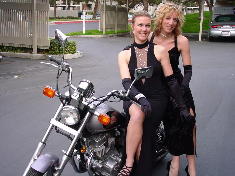 Glamour biker bitches